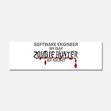 Zombie Hunter - Stenographer Car Magnet 10 x 3