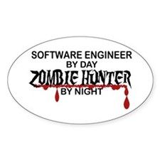 Zombie Hunter - Stenographer Decal