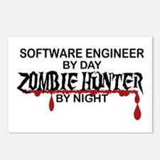 Zombie Hunter - Stenograp Postcards (Package of 8)