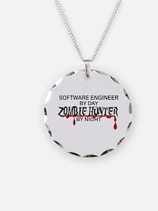 Zombie Hunter - Stenographer Necklace