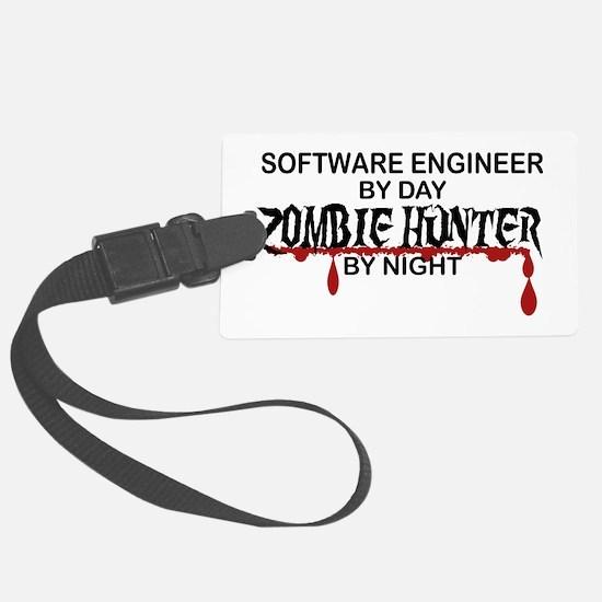 Zombie Hunter - Stenographer Luggage Tag