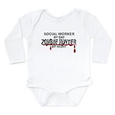 Zombie Hunter - Social Long Sleeve Infant Bodysuit