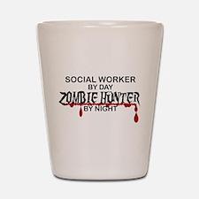 Zombie Hunter - Social Worker Shot Glass