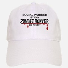 Zombie Hunter - Social Worker Baseball Baseball Cap