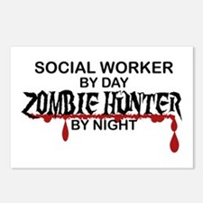 Zombie Hunter - Social Wo Postcards (Package of 8)
