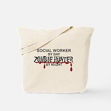 Zombie Hunter - Social Worker Tote Bag