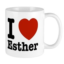 I love Esther Mug
