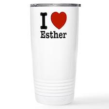 I love Esther Travel Mug