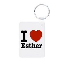 I love Esther Keychains