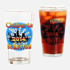 Chiberia 2014 Drinking Glass