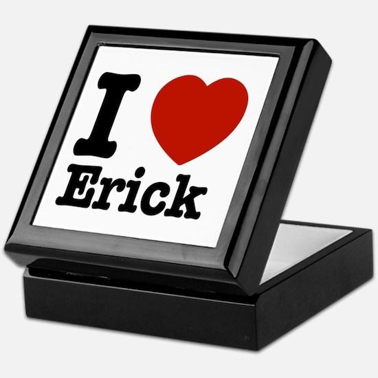 I love Erick Keepsake Box