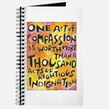 One Act Of Compassion Journal