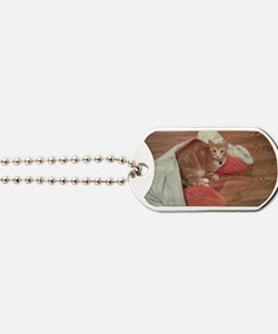 Opie in Yoga Mat Dog Tags