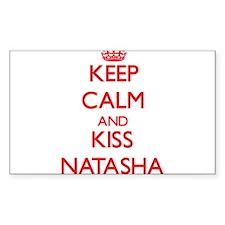 Keep Calm and Kiss Natasha Decal