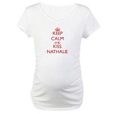 Keep Calm and Kiss Nathalie Shirt