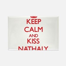 Keep Calm and Kiss Nathaly Magnets