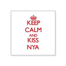 Keep Calm and Kiss Nya Sticker