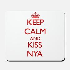 Keep Calm and Kiss Nya Mousepad