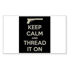 Keep Calm and Thread It On Decal