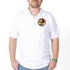Welder Fabricator Welding Torch Circle Retro T-Shirt