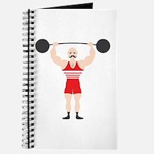 Circus Weightlifter Strong Man Journal