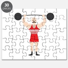 Circus Weightlifter Strong Man Puzzle