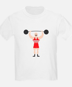 Circus Weightlifter Strong Man T-Shirt