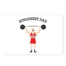 STRONGEST MAN Postcards (Package of 8)