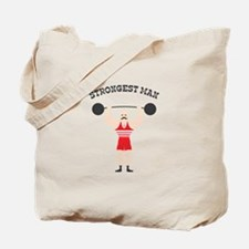 STRONGEST MAN Tote Bag