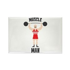 MUSCLE MAN Magnets