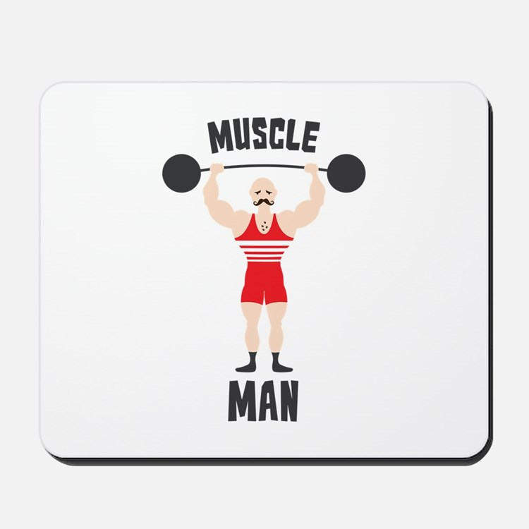 MUSCLE MAN Mousepad