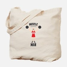 MUSCLE MAN Tote Bag