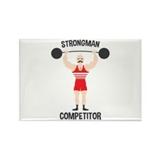 STRONGMAN COMPETITOR Magnets