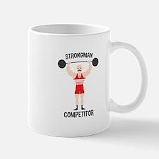 STRONGMAN COMPETITOR Mugs