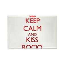 Keep Calm and Kiss Rocio Magnets