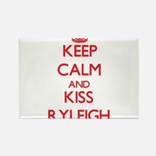 Keep Calm and Kiss Ryleigh Magnets