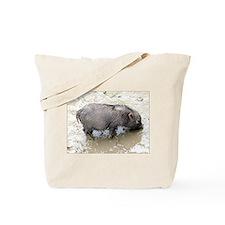 dirty, black piglet 2 Tote Bag