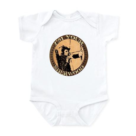 I am your Sherwood robin hood Infant Bodysuit