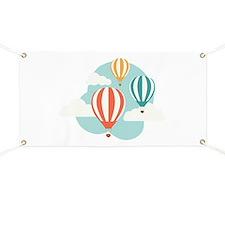 Hot Air Balloon Banner