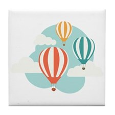 Hot Air Balloon Tile Coaster
