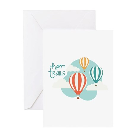 happy tRAILS Greeting Cards