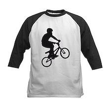 BMX Bike trick jump Baseball Jersey