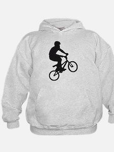 BMX Bike trick jump Hoodie