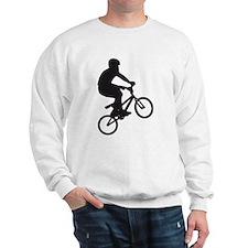 BMX Bike trick jump Sweatshirt