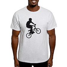 BMX Bike trick jump T-Shirt