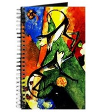 Franz Marc - Two Monkeys Journal
