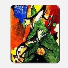 Franz Marc - Two Monkeys Mousepad