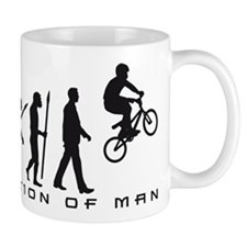 evolution BMX Bike trick jump Mugs