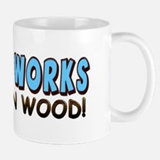 """Viagra Works: Knock On Wood!"" Mug"