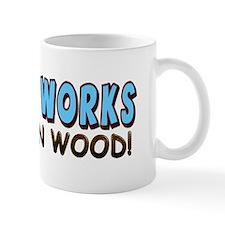 """""""Viagra Works: Knock On Wood!"""" Mug"""